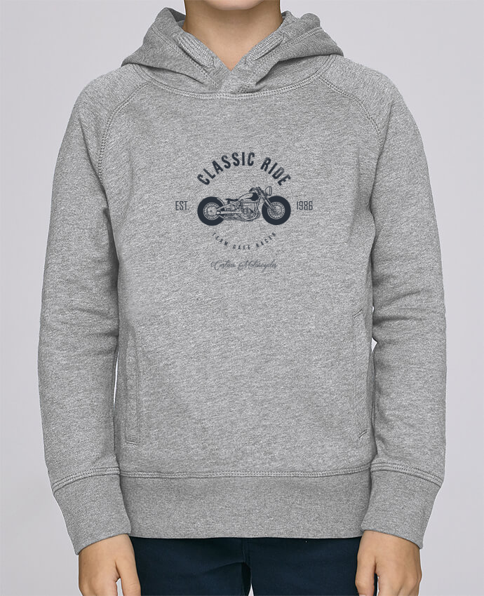 Sweat à Capuche Enfant Stanley Mini Base Classic Ride Motorcycles par AB