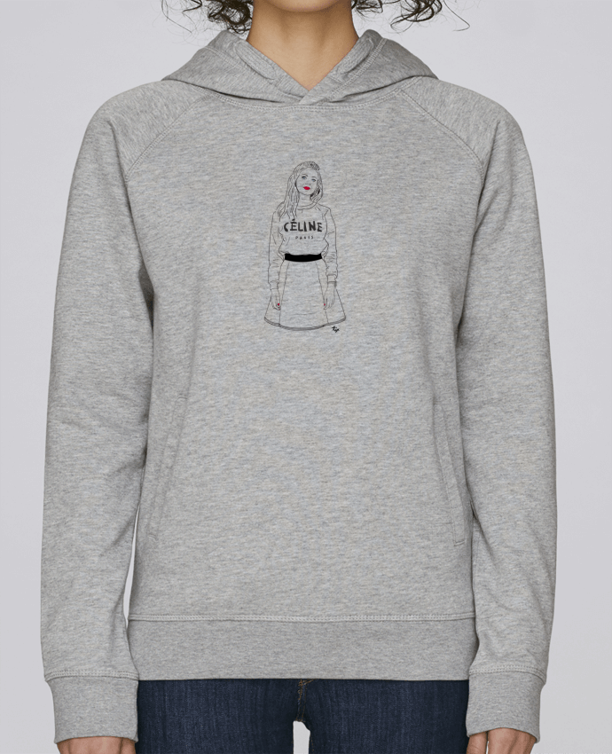 Sweat Capuche Femme Stanley Base Printcess III par Studio Tix