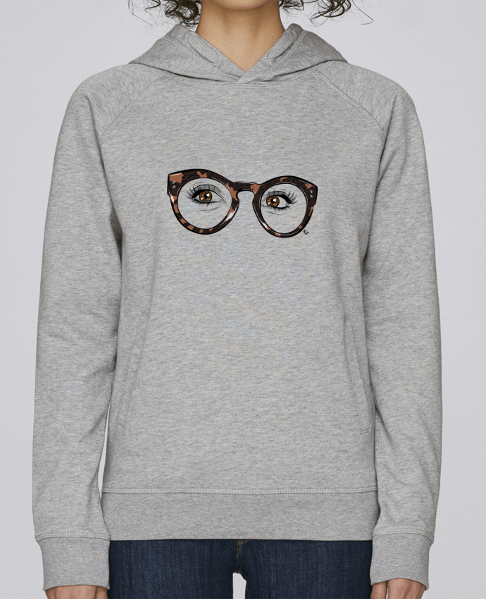 Sweat Capuche Femme Stanley Base Printcess I par Studio Tix