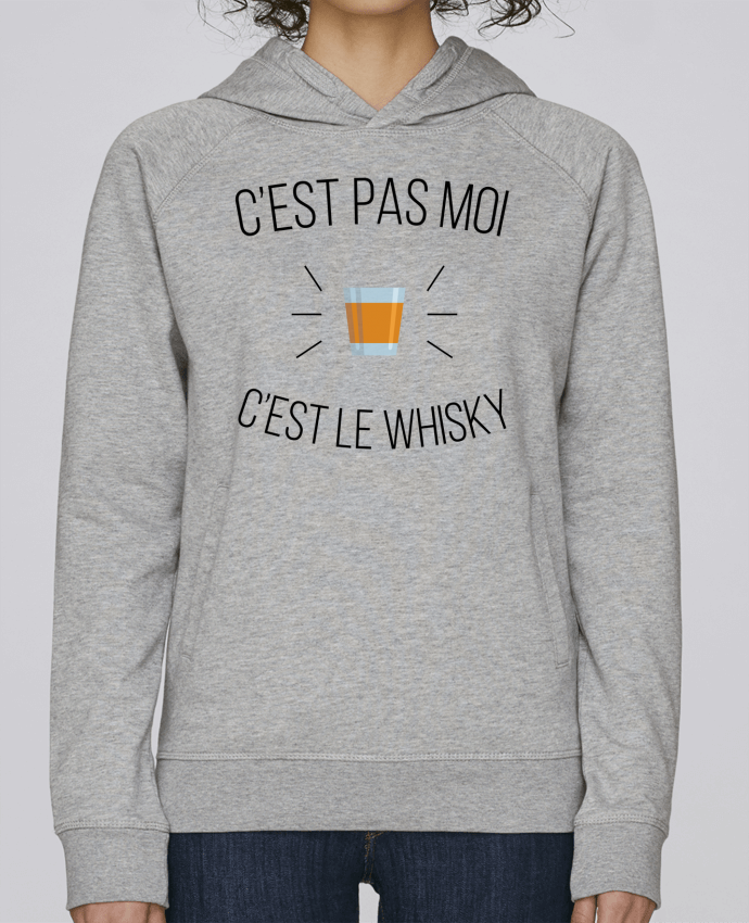 Sweat Capuche Femme Stanley Base C'est le whisky par tunetoo