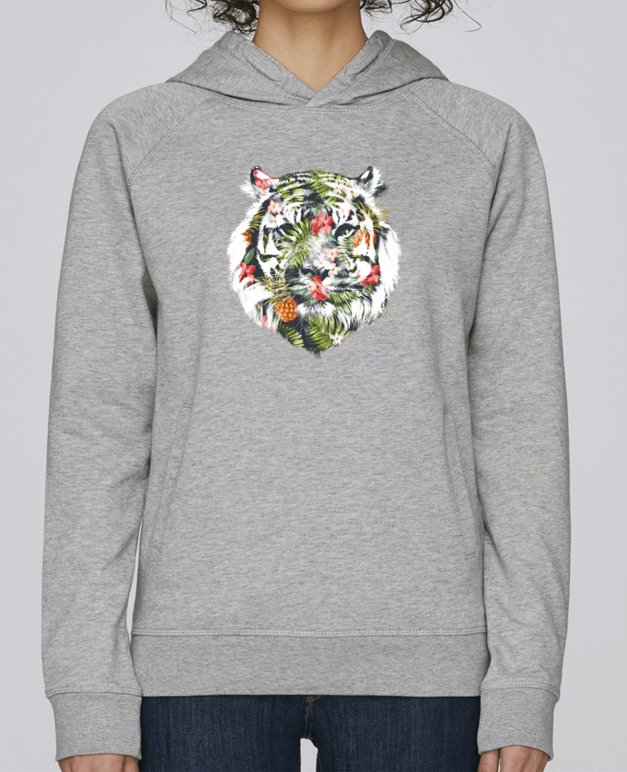 Sweat Capuche Femme Stanley Base Tropical tiger par robertfarkas