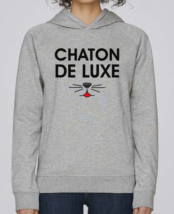 Sweat Capuche Femme Stanley Base Chaton de luxe par tunetoo