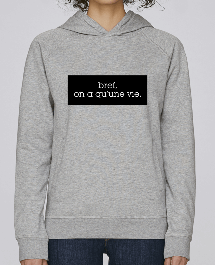 Sweat Capuche Femme Stanley Base Bref, on a qu