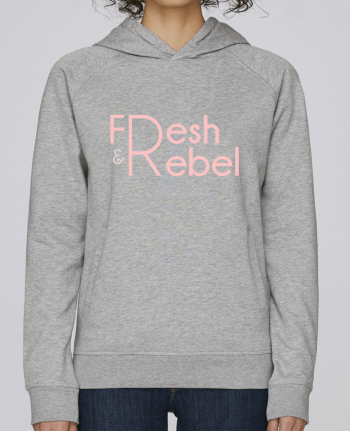 Sweat Capuche Femme Stanley Base Fresh and Rebel par tunetoo