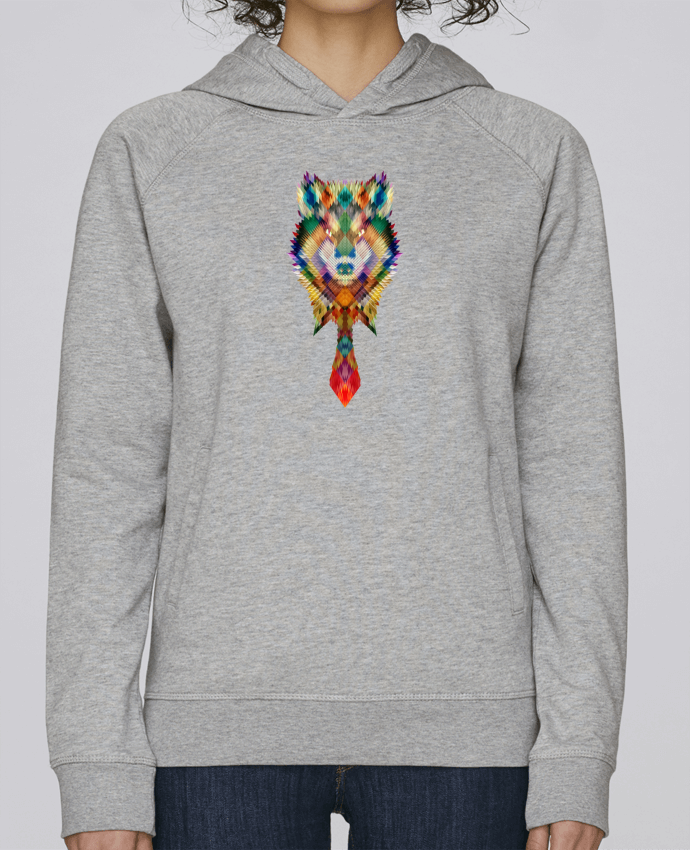 Sweat Capuche Femme Stanley Base Corporate wolf par ali_gulec