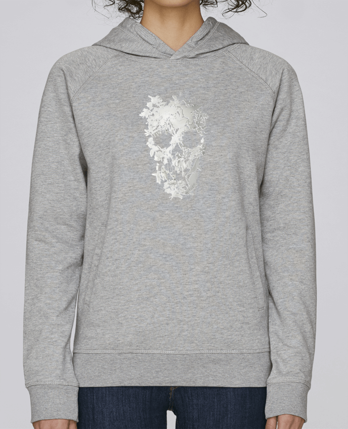 Sweat Capuche Femme Stanley Base Simple Skull par ali_gulec