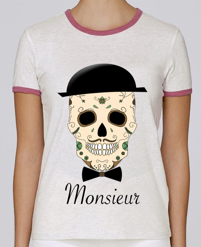 T-shirt Femme Stella Returns Calavera Monsieur pour femme par Mx ARTificiel