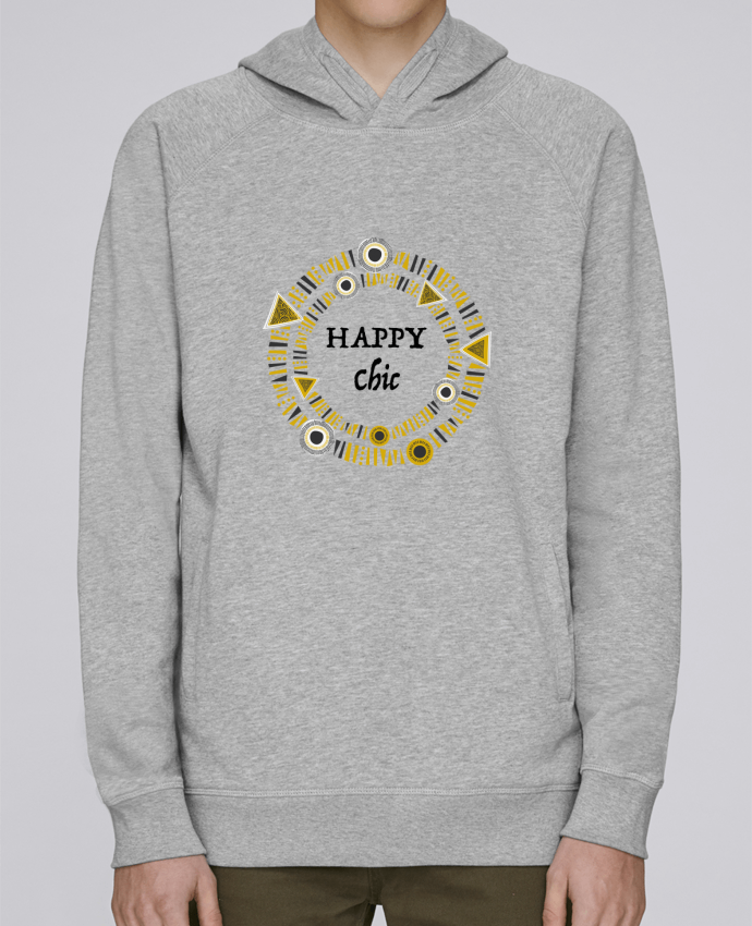 Sweat Capuche Homme Stanley Base Happy Chic par LF Design