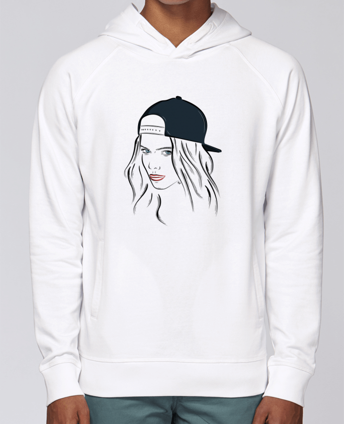 Sweat Capuche Homme Stanley Base Printcess IV par Studio Tix