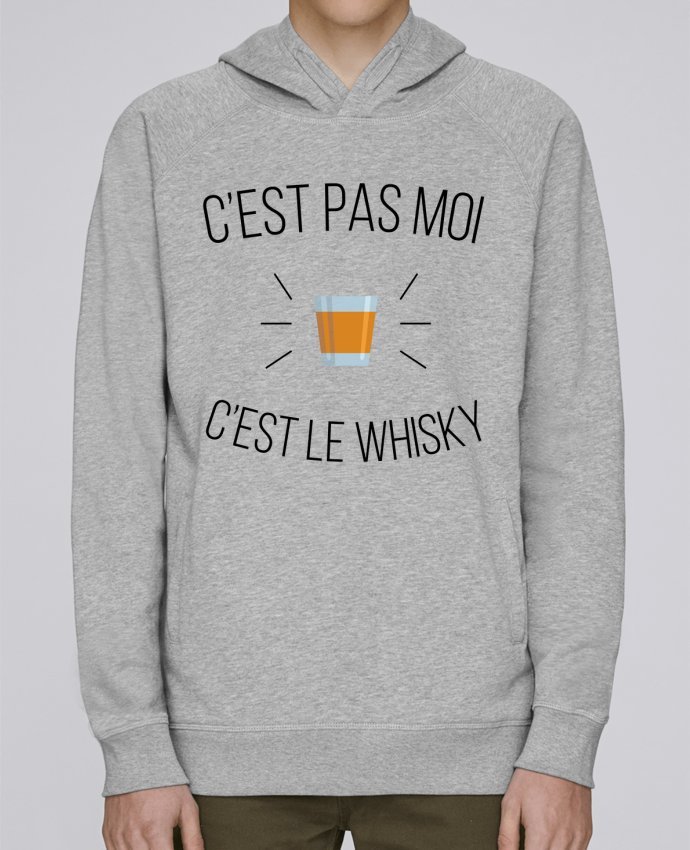 Sweat Capuche Homme Stanley Base C'est le whisky par tunetoo
