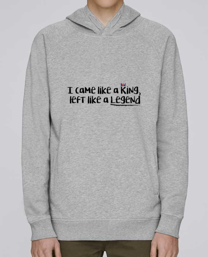 Sweat Capuche Homme Stanley Base I came like a king par tunetoo