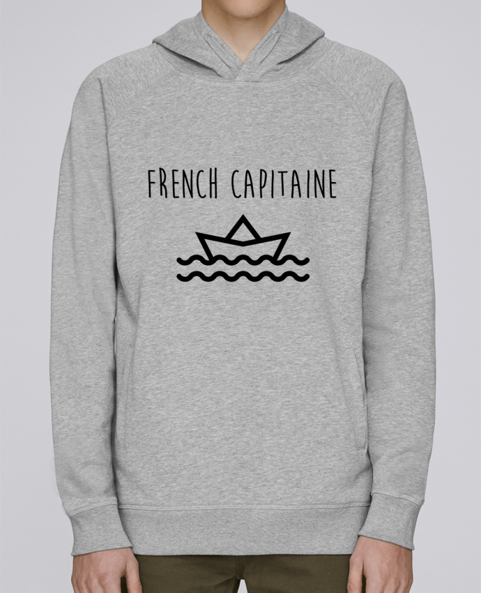 Sweat Capuche Homme Stanley Base French capitaine par Ruuud