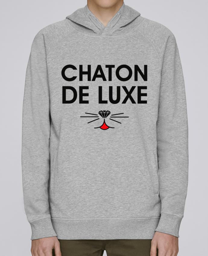 Sweat Capuche Homme Stanley Base Chaton de luxe par tunetoo