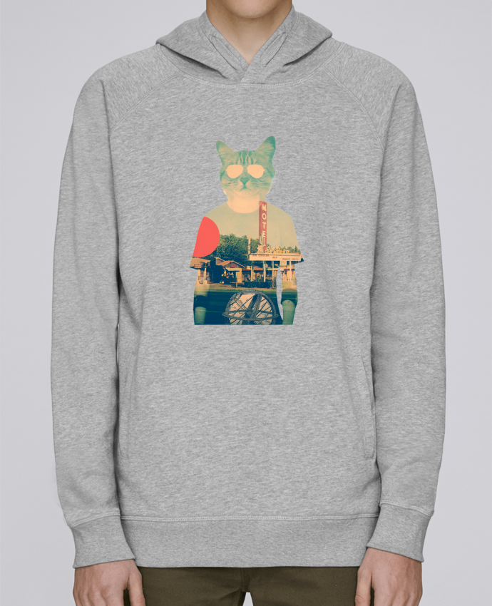 Sweat Capuche Homme Stanley Base Cool cat par ali_gulec