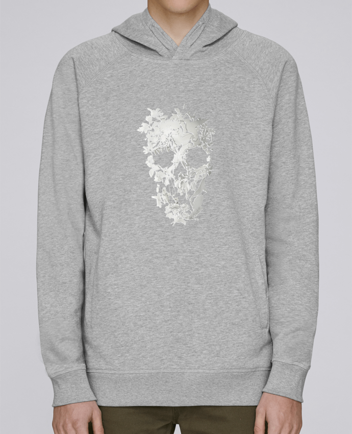 Sweat Capuche Homme Stanley Base Simple Skull par ali_gulec