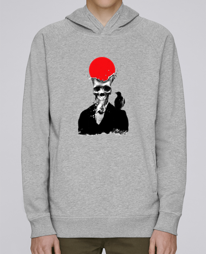 Sweat Capuche Homme Stanley Base Splash skull par ali_gulec