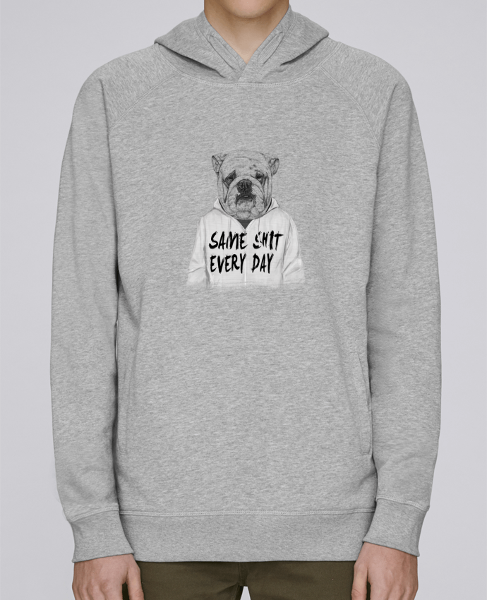 Sweat Capuche Homme Stanley Base Same shit every day par Balàzs Solti
