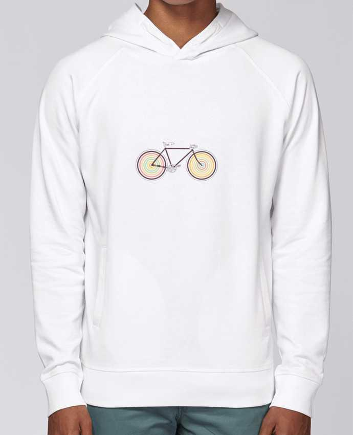 Sweat Capuche Homme Stanley Base Velocolor par Florent Bodart
