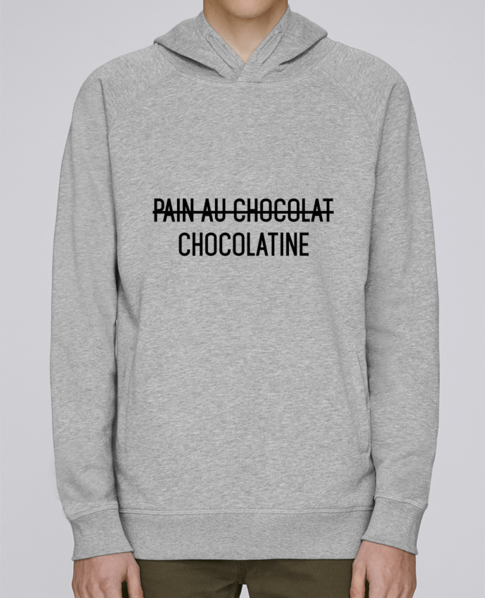 Sweat Capuche Homme Stanley Base Chocolatine par tunetoo