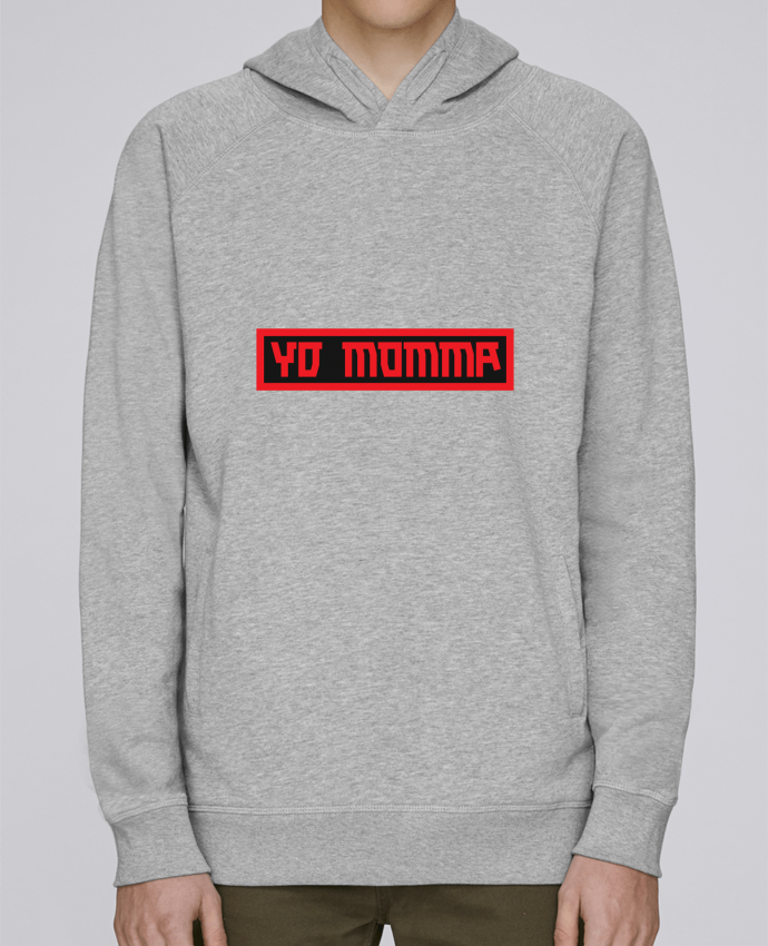 Sweat Capuche Homme Stanley Base YO MOMMA par tunetoo