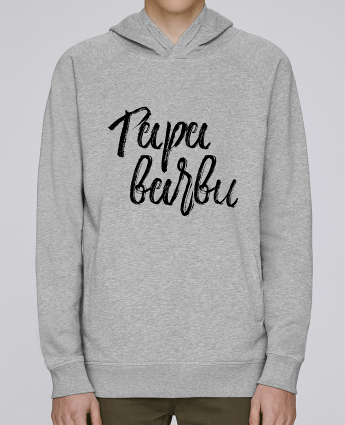Sweat Capuche Homme Stanley Base Papa barbu par tunetoo