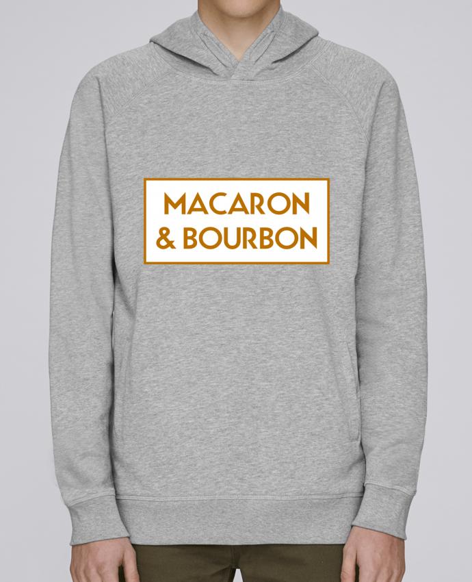 Sweat Capuche Homme Stanley Base Macaron et bourbon par tunetoo