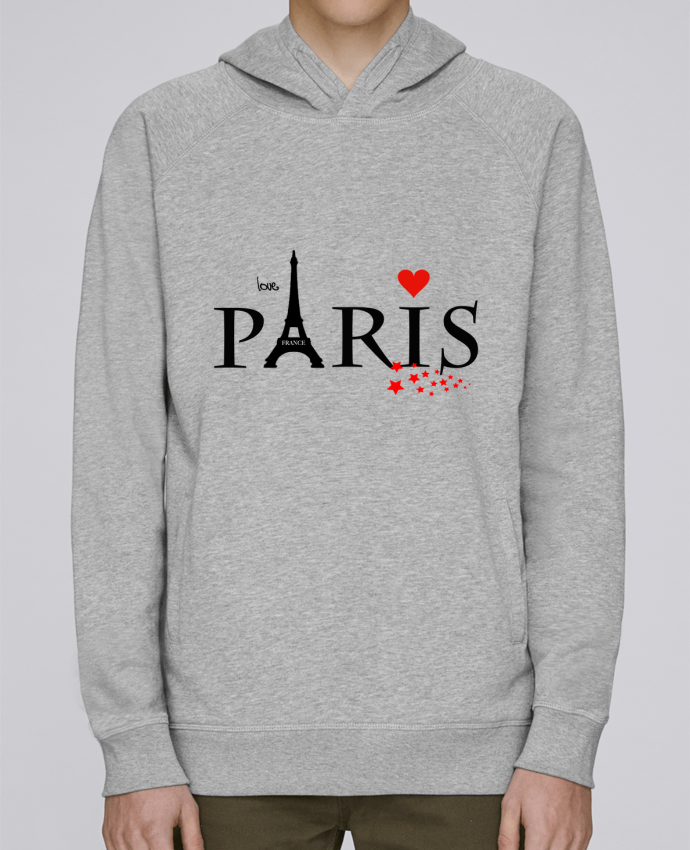 Sweat Capuche Homme Stanley Base Paris love par Dream Design