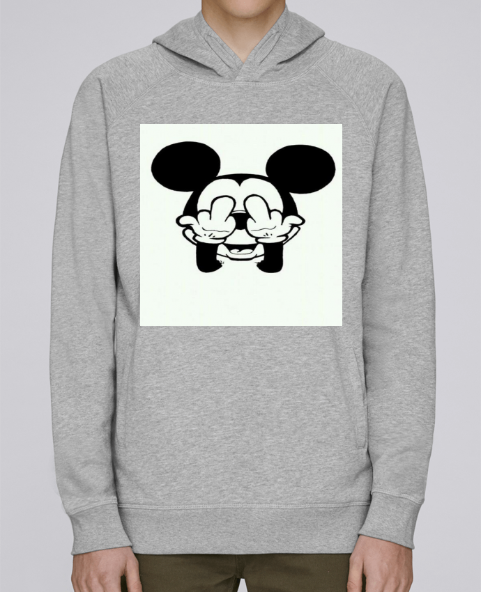 Sweat Capuche Homme Stanley Base Vetement mickey doigt d