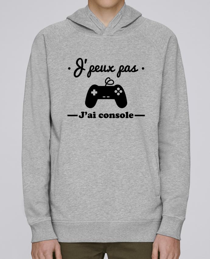 Sweat Capuche Homme Stanley Base J'peux pas j'ai console ,geek,gamer,gaming par Benichan