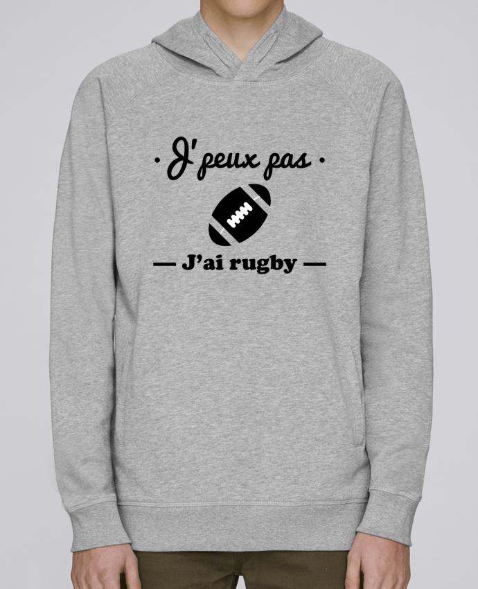 Sweat Capuche Homme Stanley Base J'peux pas j'ai rugby par Benichan