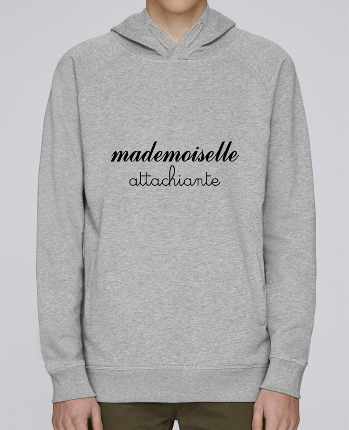 Sweat Capuche Homme Stanley Base Mademoiselle Attachiante par Freeyourshirt.com