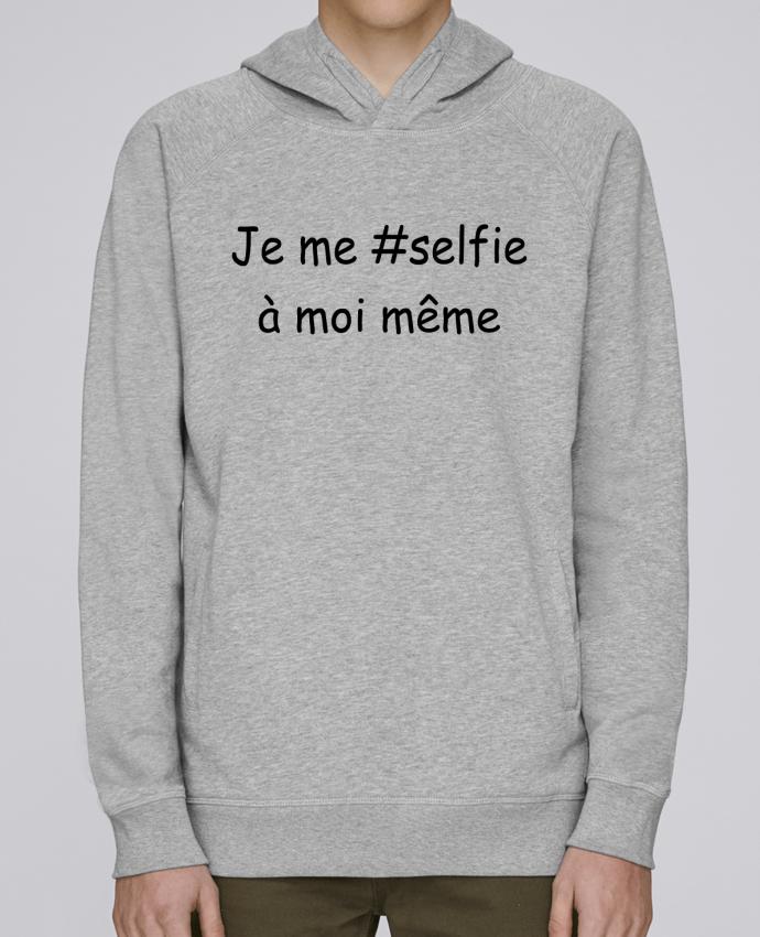 Sweat Capuche Homme Stanley Base Je me selfie par Tee Smiles