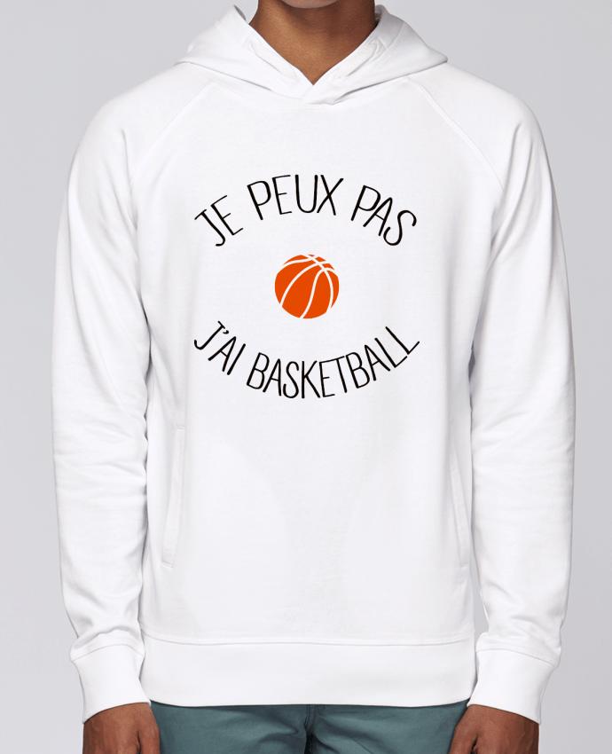 Sweat Capuche Homme Stanley Base je peux pas j'ai Basketball par Freeyourshirt.com
