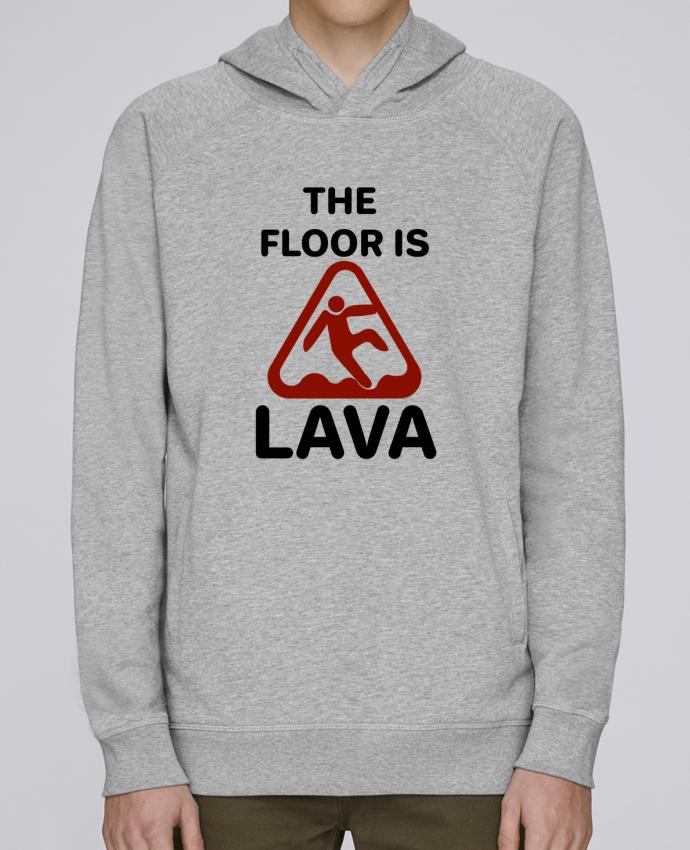 Sweat Capuche Homme Stanley Base The floor is lava par tunetoo
