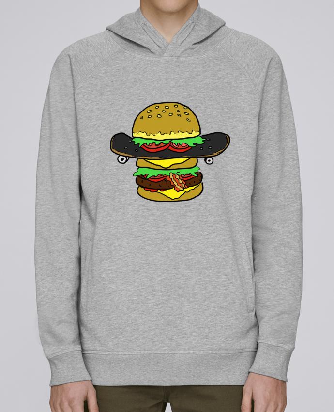 Sweat Capuche Homme Stanley Base Skateburger par Salade