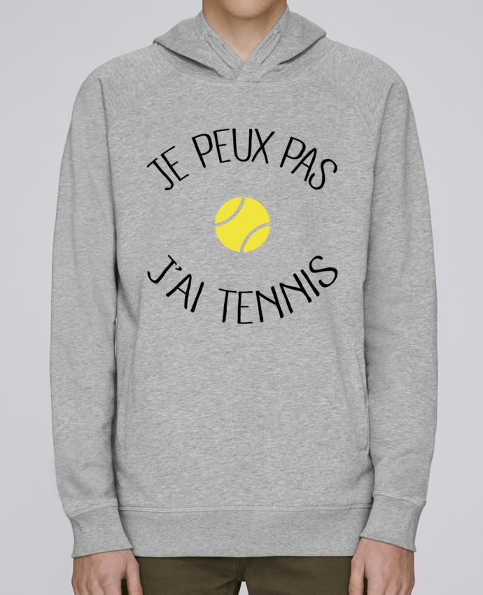 Sweat Capuche Homme Stanley Base Je peux pas j'ai Tennis par Freeyourshirt.com