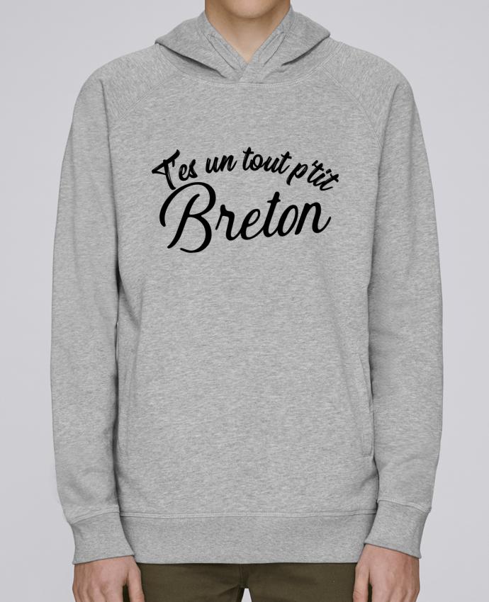 Sweat Capuche Homme Stanley Base P'tit breton cadeau par Original t-shirt