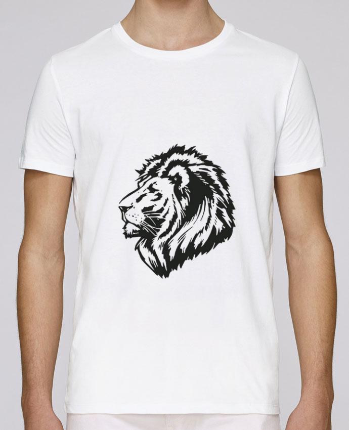 T-Shirt Col Rond Stanley Leads Proud Tribal Lion par Eleana