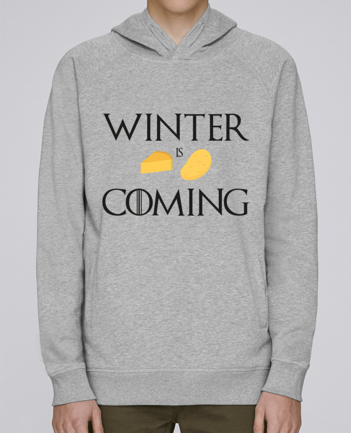 Sweat Capuche Homme Stanley Base Winter is coming par Ruuud