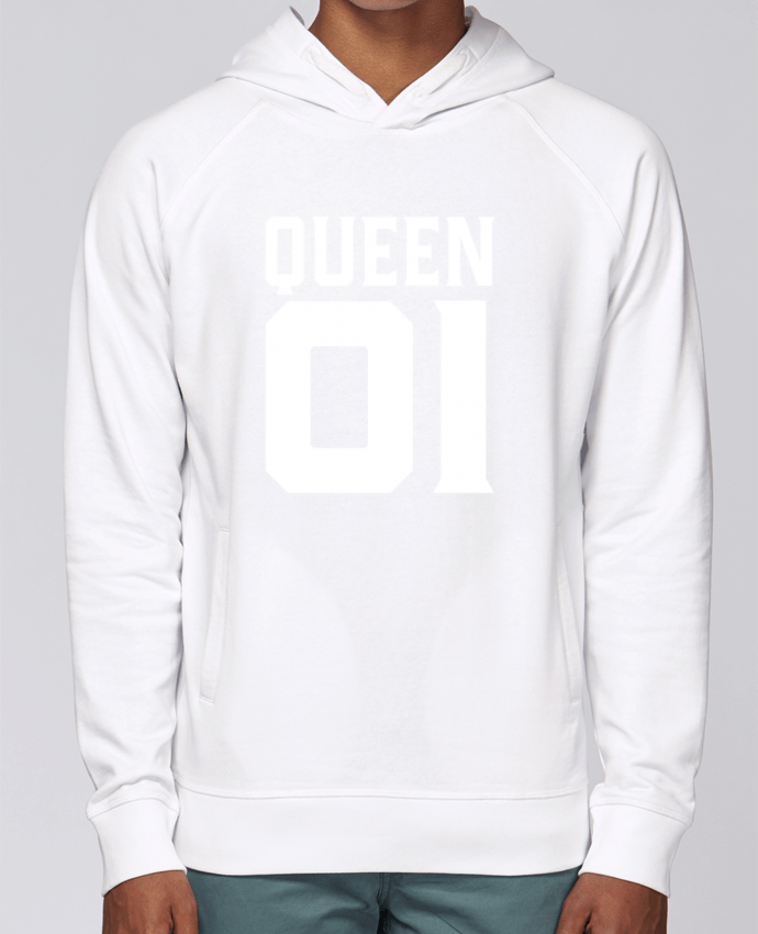 Sweat Capuche Homme Stanley Base queen 01 t shirt cadeau humour par Original t shirt