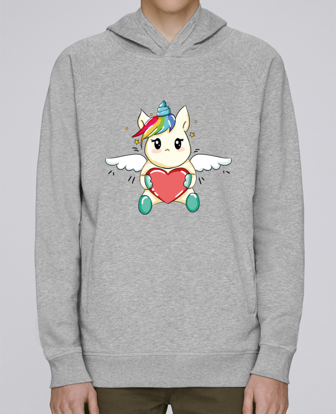 Sweat Capuche Homme Stanley Base Licorne Love par