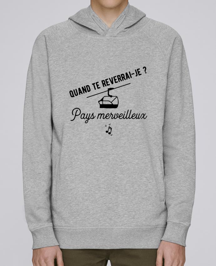 Sweat Capuche Homme Stanley Base Pays merveilleux humour par Original t-shirt