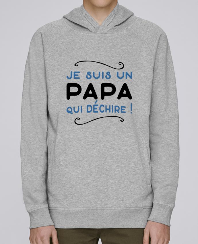 crazy price first rate info for Sweat Capuche Homme Stanley Base Papa qui déchire par Original t-shirt