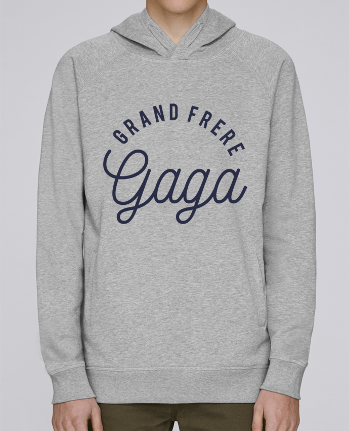 Sweat Capuche Homme Stanley Base Grand frère gaga par tunetoo