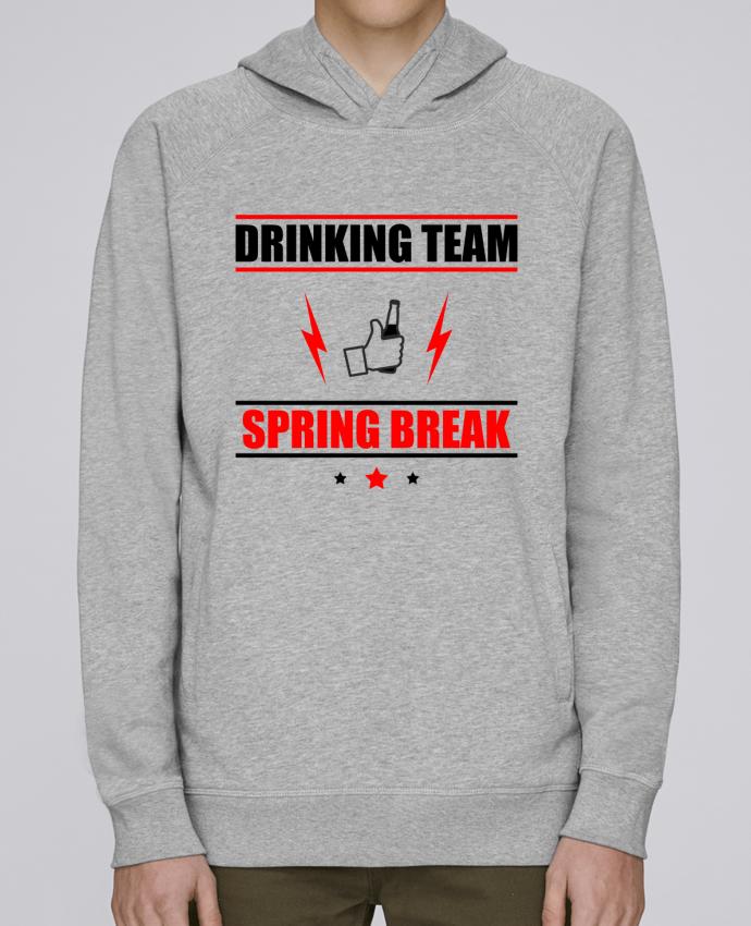 Sweat Capuche Homme Stanley Base Drinking Team Spring Break par Benichan