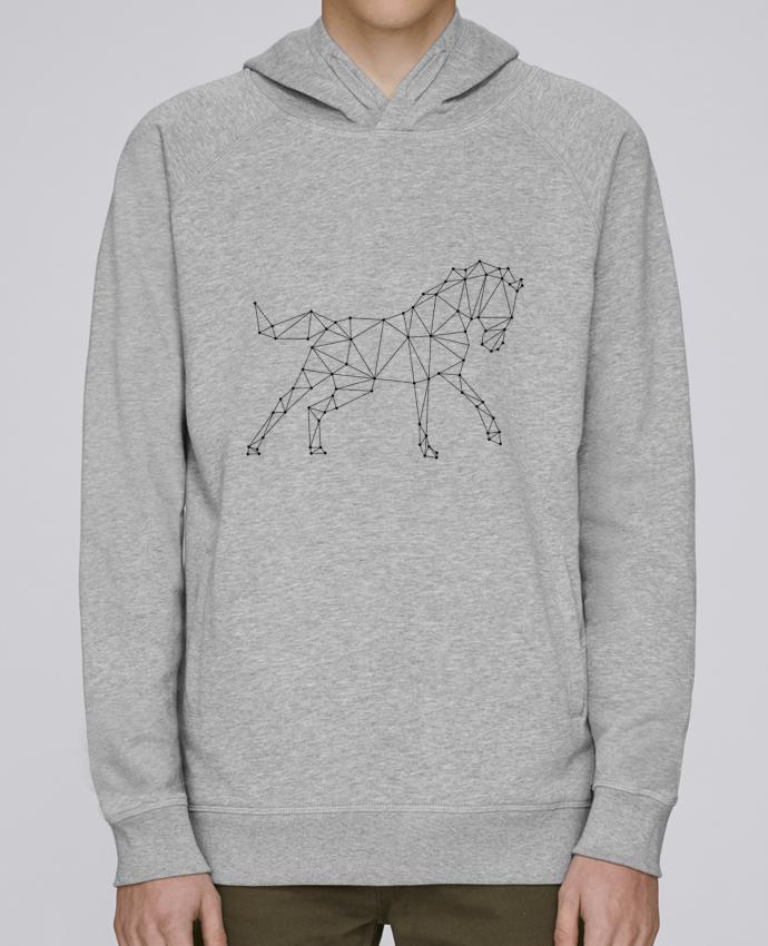 Sweat Capuche Homme Stanley Base horse - géométrique par /wait-design