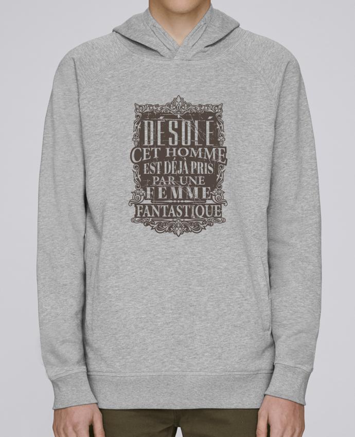 Sweat Capuche Homme Stanley Base Femme fantastique par Original t shirt