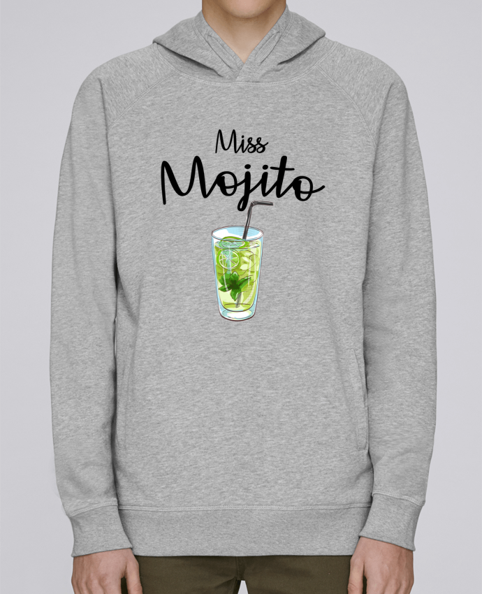 Sweat Capuche Homme Stanley Base Miss Mojito par FRENCHUP-MAYO