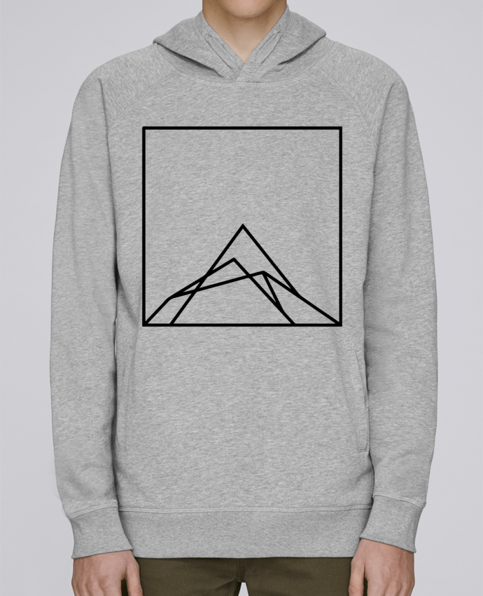 Sweat Capuche Homme Stanley Base Montain by Ruuud par Ruuud