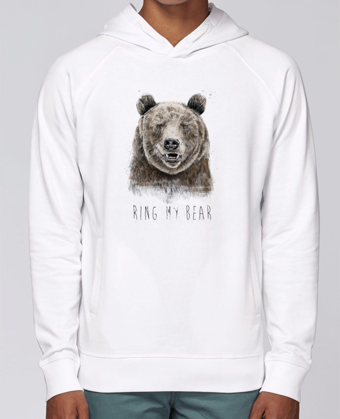 Sweat Capuche Homme Stanley Base Ring my bear par Balàzs Solti